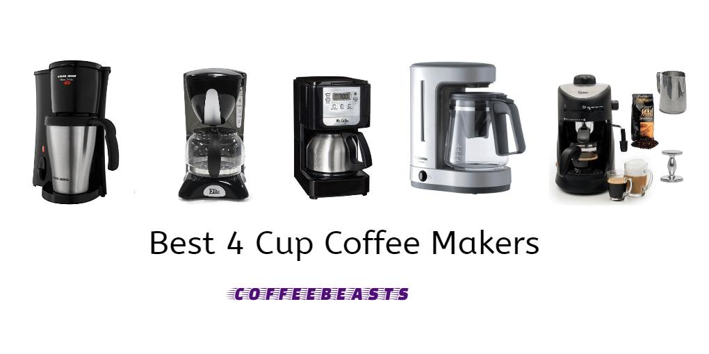 Best 4 Cup Coffee Maker Reviews 2018 Coffee Beasts